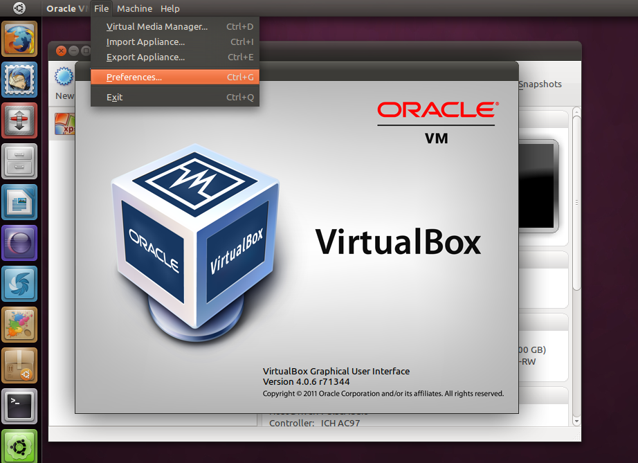 VirtualBox 4.0.6 di Ubuntu 11.04 Natty Narwhal