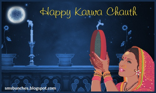 Happy Karwa Chauth Moon Rise Photos
