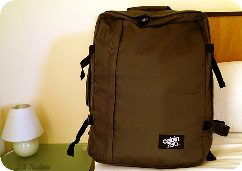 0dee5e398e An Ultra-Light Cabin Bag - CabinZero - DB Reviews - UK Lifestyle Blog