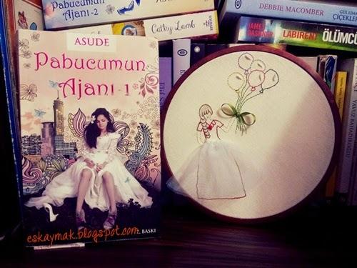 Pabucumun Ajanı 1, Asude, Deniz, Tuna, kitap, book, roman, novel, ephesus, mert, Kitap OkuYorum, gelinlik,