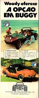 propaganda Wood Buggy - 1973. 1973. brazilian advertising cars in the 70. os anos 70. história da década de 70; Brazil in the 70s; propaganda carros anos 70; Oswaldo Hernandez;
