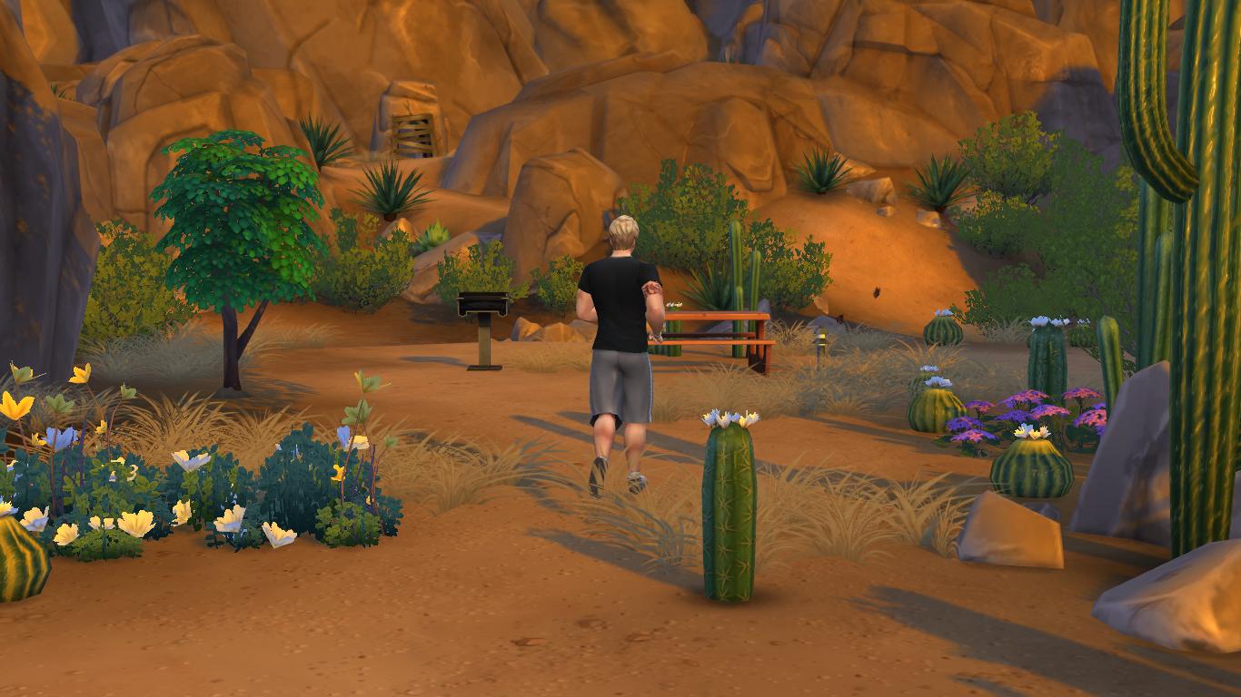 """Guía Sims 4: Desbloquear La """"Gruta Olvidada"""" y El """"Claro Silvestre"""" 12-09-2014_15-38"""