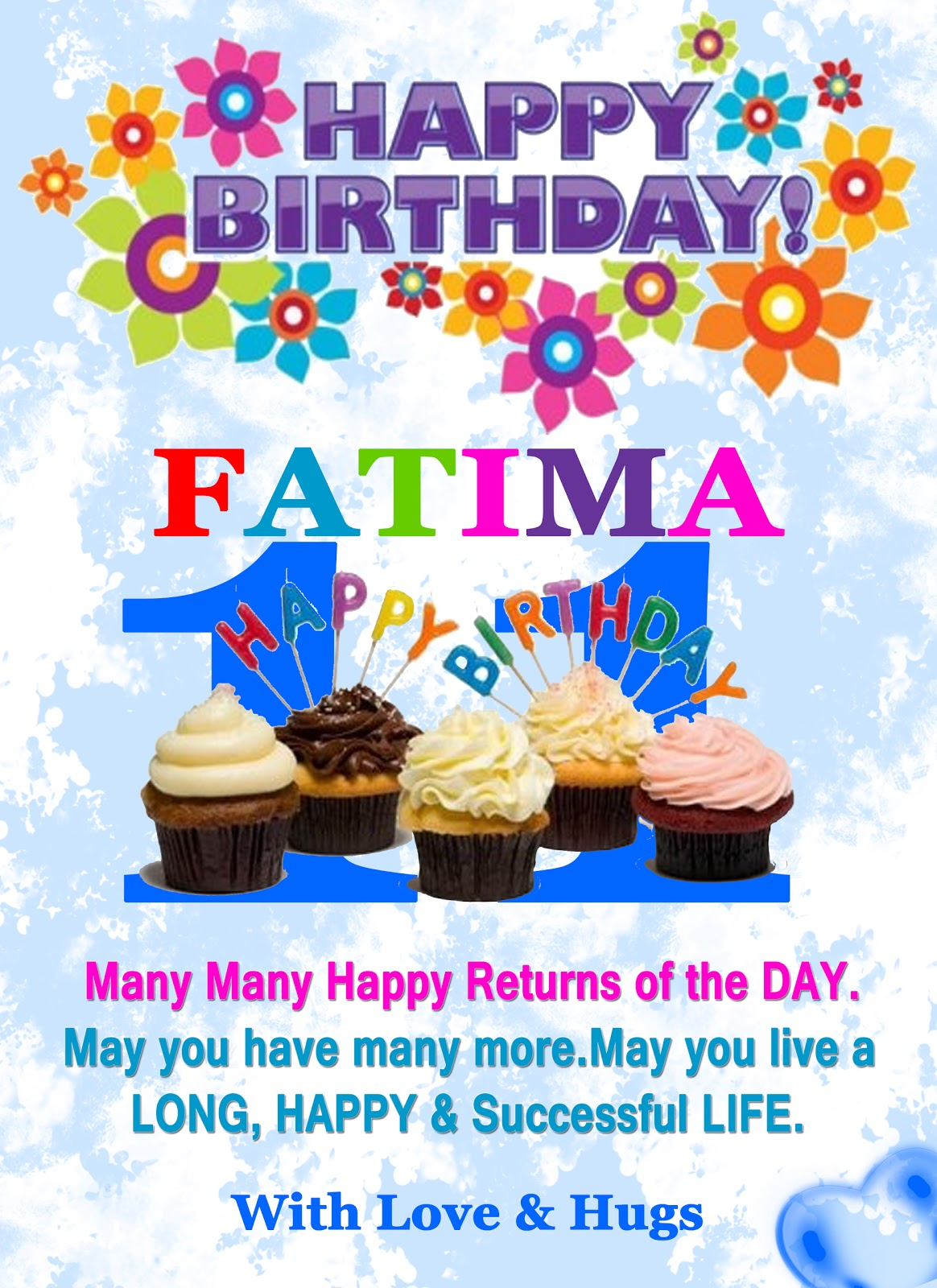 Birthday Cake Pics With Name Fatima : Happy Birthday Fatima Zafar ~ AMNA ZAFAR (AIMZ)