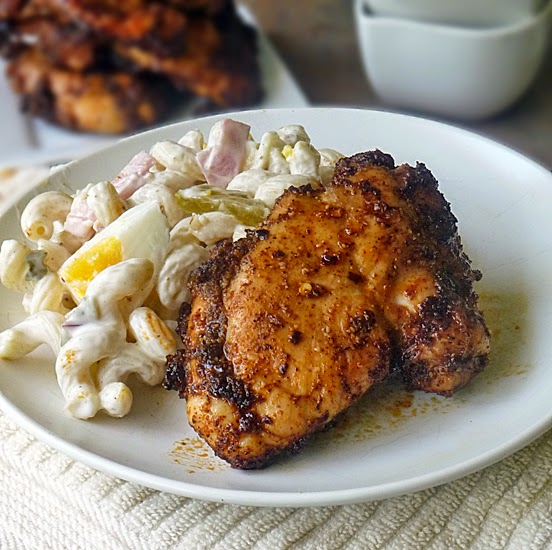 Life Tastes Good: Honey Glazed Spicy Chicken Thighs