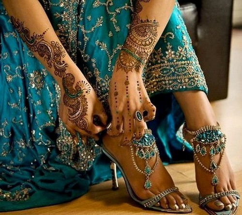 Indian Arabic and Pakistani Best Bridal Mehndi Designs All time