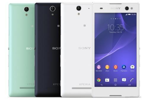 Un nuovo smartphone android di Sony dedicato ai Selfie: ecco Xperia C3