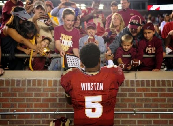 Jameis Winston is just one of the guys