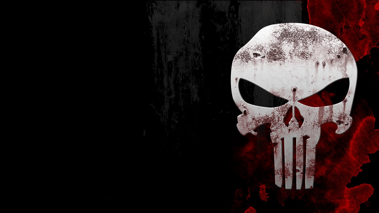The punisher skull logo hd wallpapers