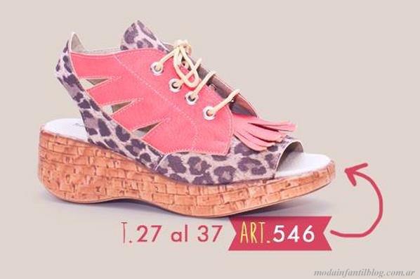 moda infantil en sandalias new star 2014