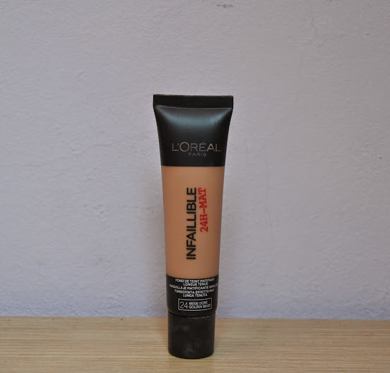 Review: L'Oreal Infailible 24H-Mat Foundation