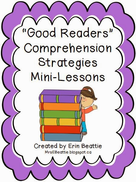 http://www.teacherspayteachers.com/Product/Good-Readers-Comprehension-Strategies-Mini-Lessons-455260