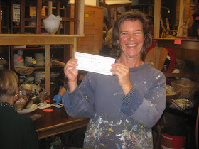 Congrats to Pam, winner of our Black Weekend grand prize raffle drawing!