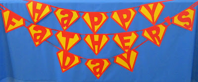 Happy Father's Day Super Dad Banner