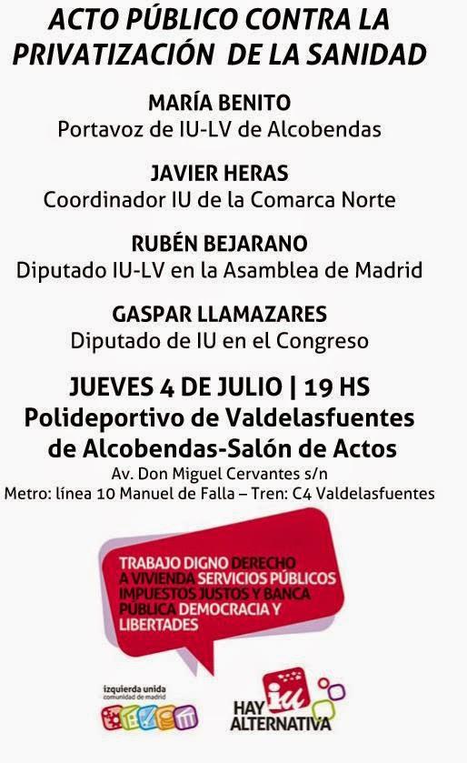Gapar Llamazares - 4 Julio 2013