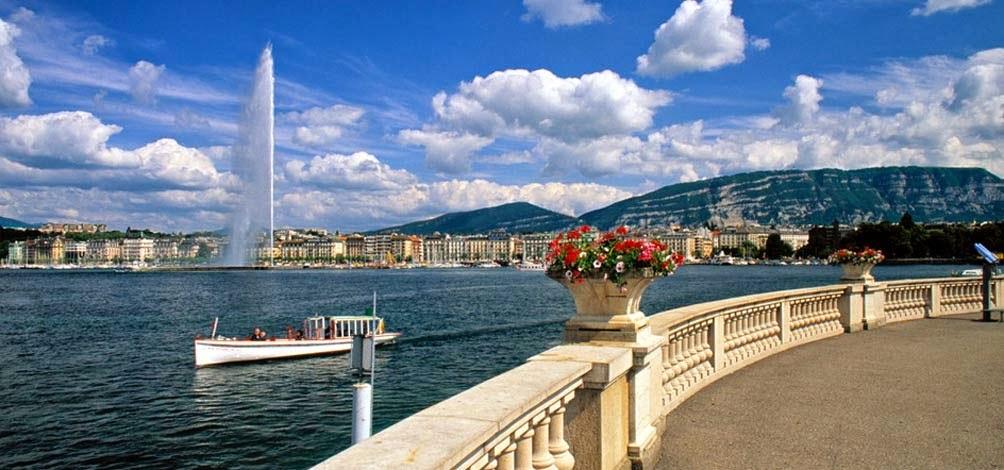 Visita Ginebra Suiza