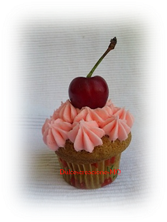 Cupcake Bailarina Danza CerezaFemenino Vainilla Rosa Cumpleaños Aniversario Boda Fiesta Comunión Niña Buttercream Azúcar Glas Receta Fácil