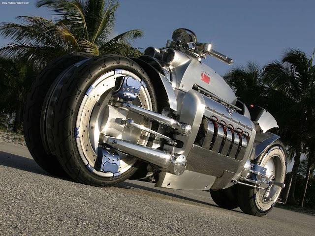 Foto Sepeda Motor Konsep Dodge Tomahawk 04