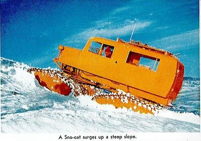 Australian alpine oversnow equipment tucker sno cat