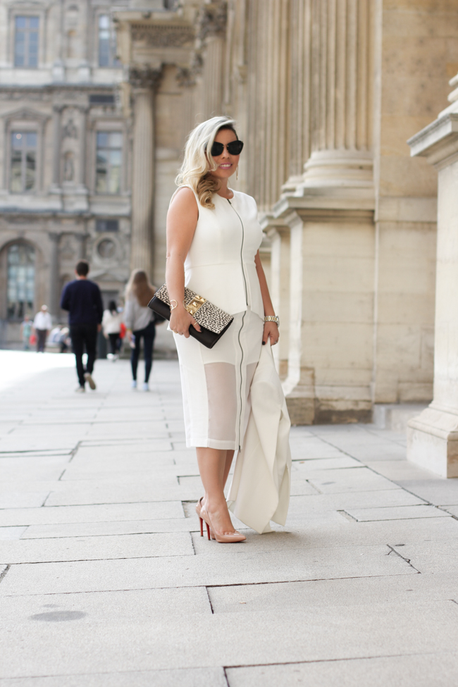 all white look of the day