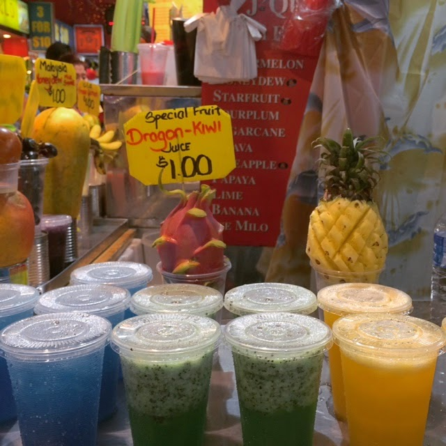 Tropical Fruit Juices in Singapore