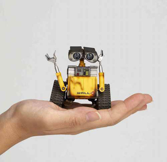 Wall E Toys : Super punch revoltech wall e