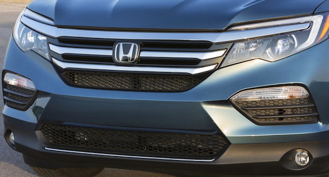 Honda grille badge