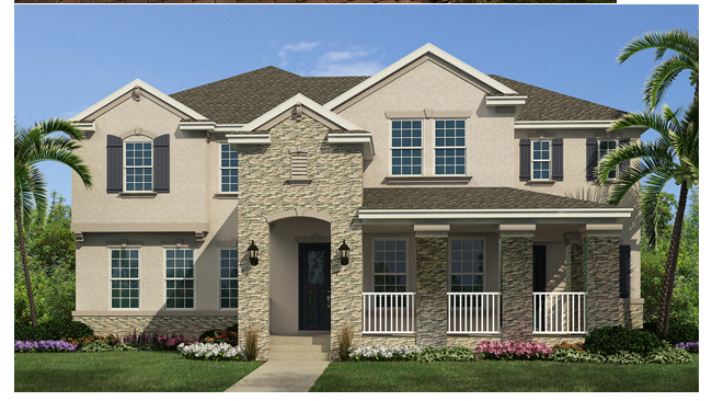 New Construction Homes In Orlando Florida Summerlake New
