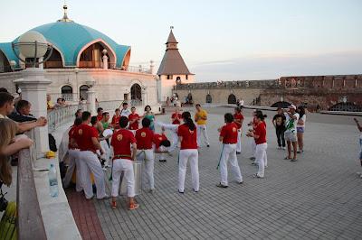 Капоэйра центр в Казанском кремле