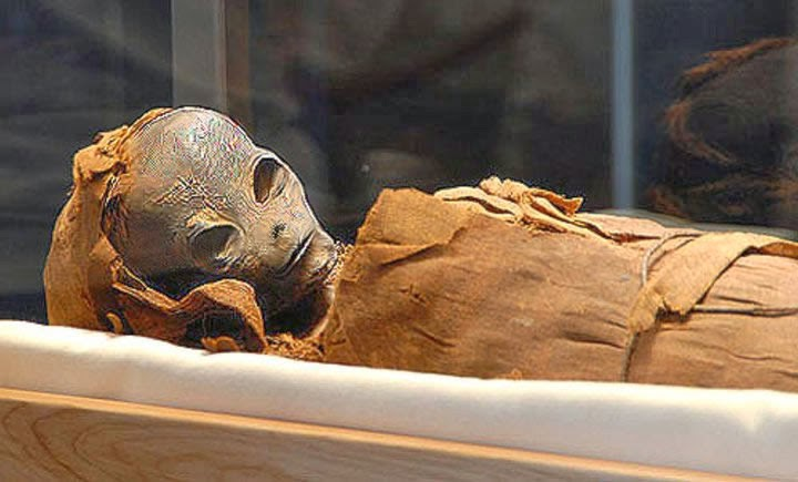 Extraterrestrial Mummy Found In Egypt