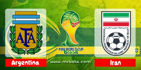 Prediksi Skor Argentina vs Iran 21 Juni 2014 Piala Dunia