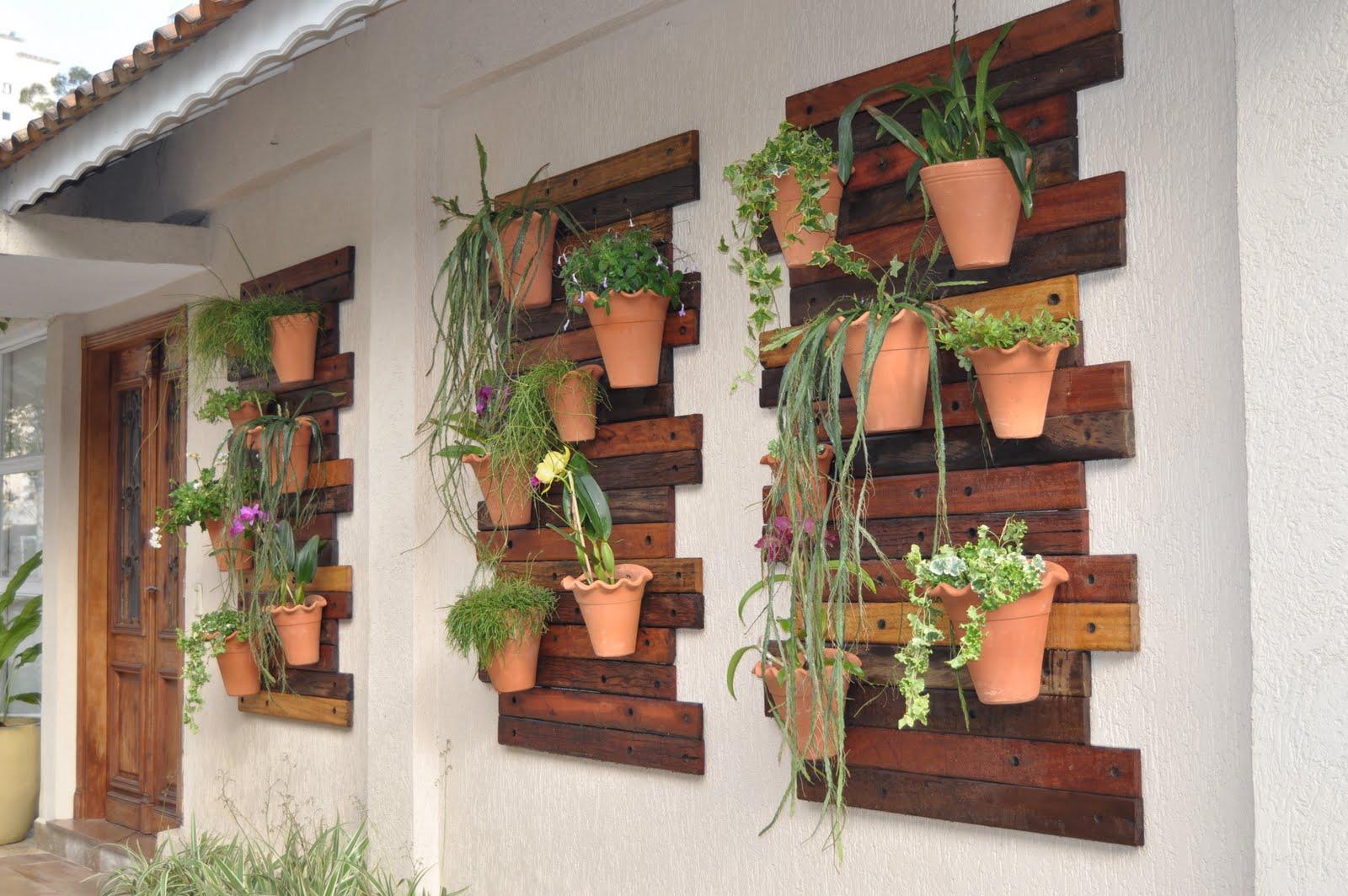 Coisas de Mulher: Dicas para jardim vertical