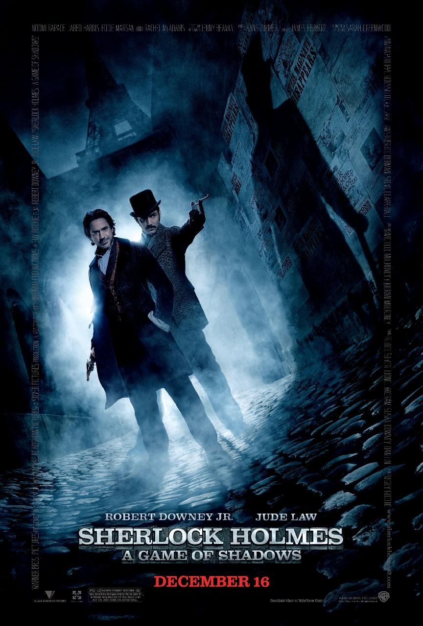 sherlock holmes a game of shadows Sherlock holmes: [thug begins to whistle mozart's serenade no 13 and after sherlock joins in, they begin to take of his disguise stops and smiles] i forgot the rest [turns around and wants to.
