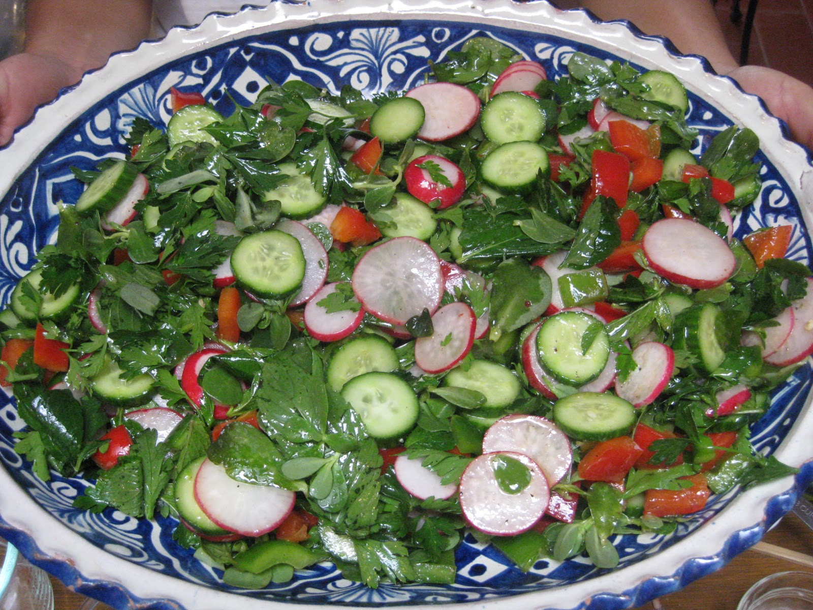 Flavors of the Sun: Middle Eastern Salad with Allspice Vinaigrette