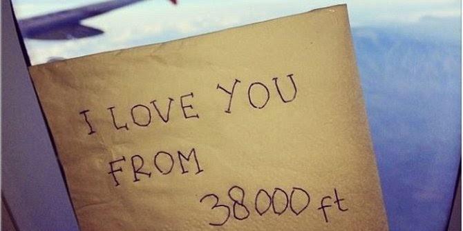 Surat cinta yang ditemukan dikecelakaan AirAsia QZ8501