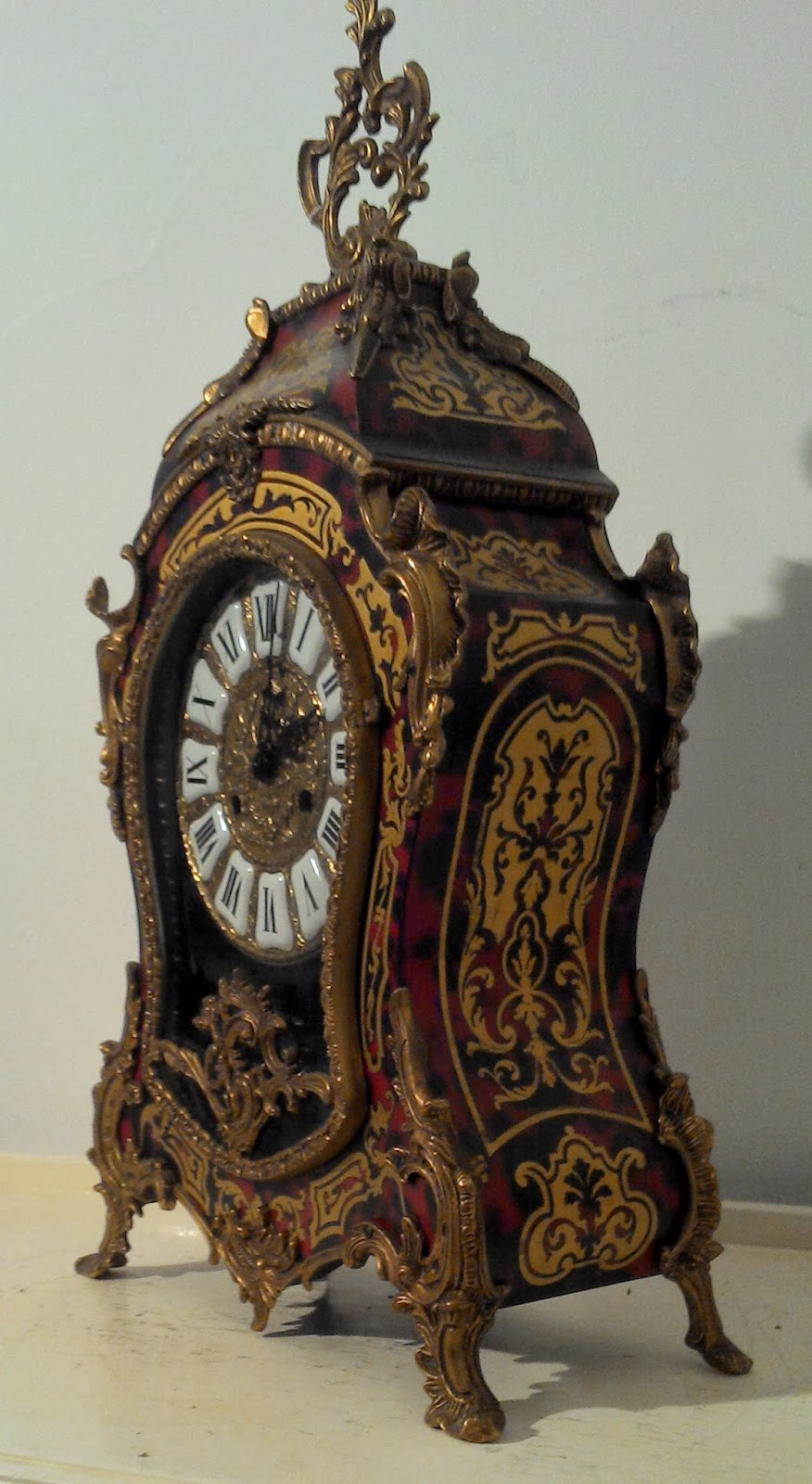 Didoulabrocante antique french clock cartel