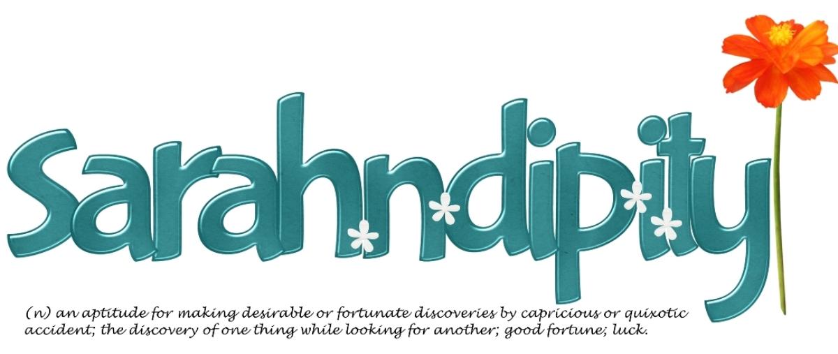 sarah·n·dip·i·ty