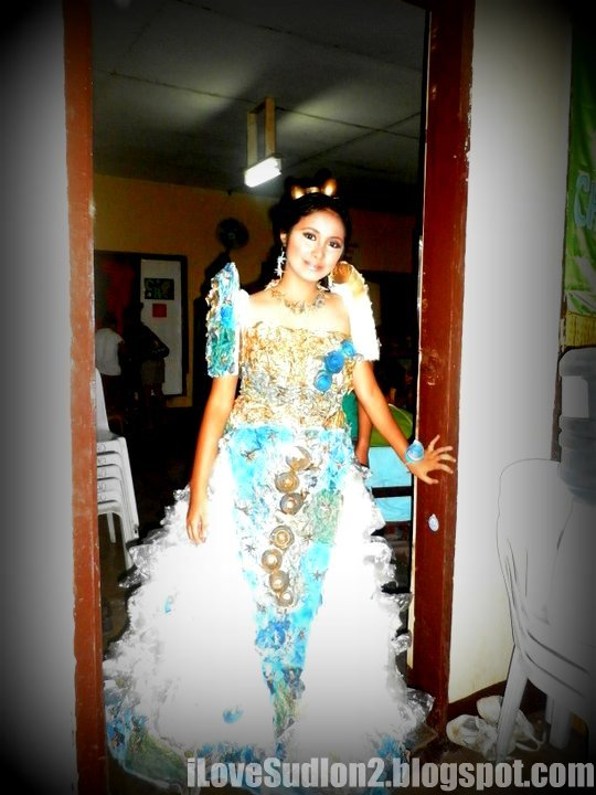 I Love Sudlon 2 Recycled Filipiniana Gown Of Summer Camp 2011