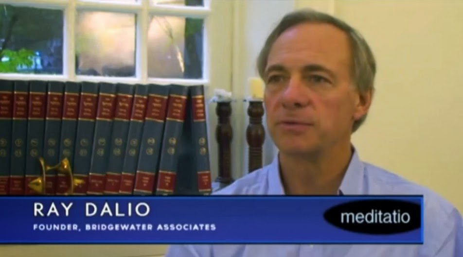 Ray Dalio Bridgewater benefits of meditation