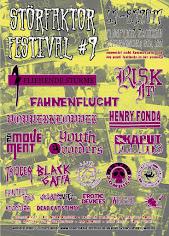 Störfaktor Festival ist am 6.7.-8.7.2017 auf dem Flugplatz in Zwickau
