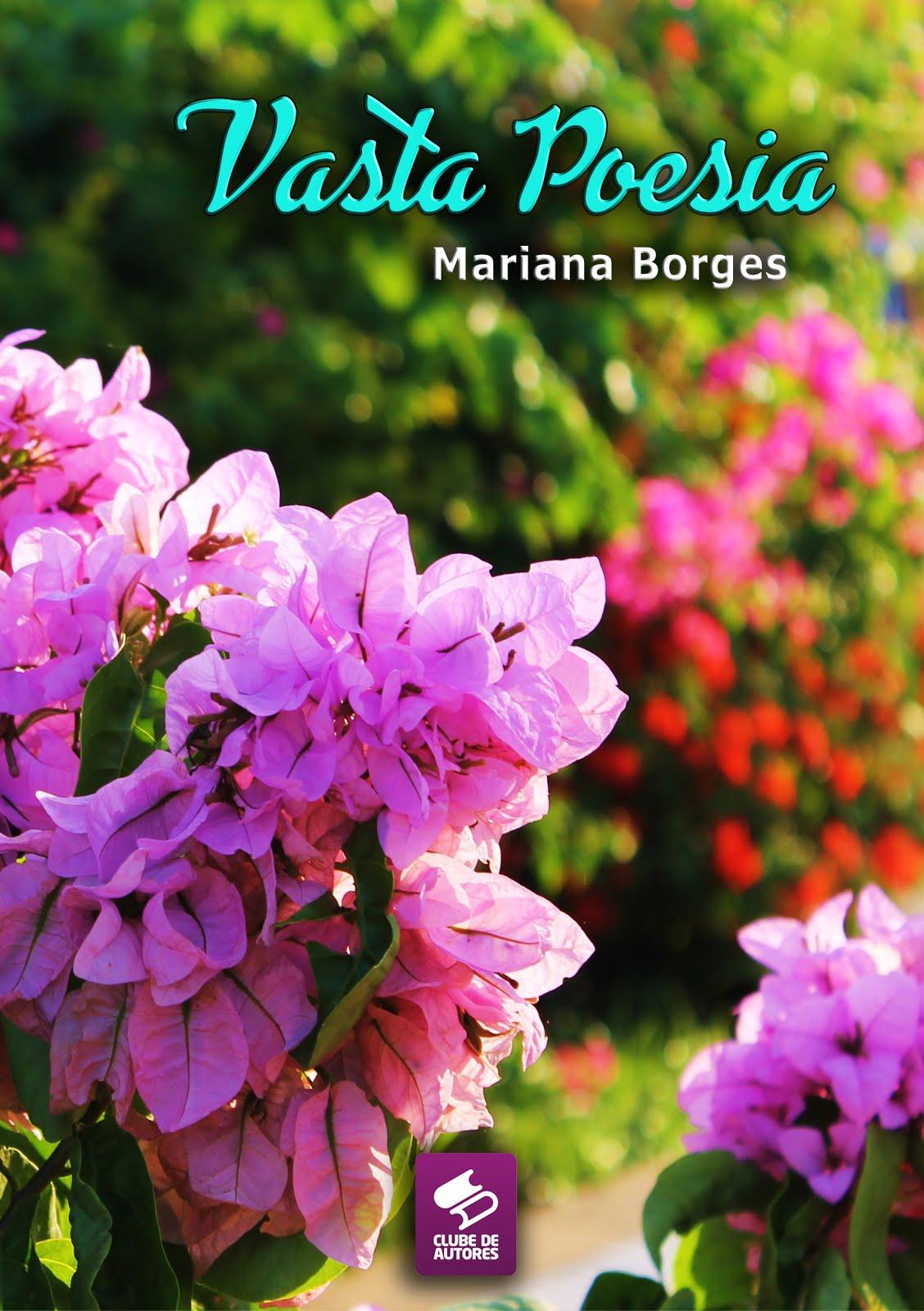 Livro de Poesias Vasta Poesia (2018) Mariana Borges