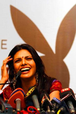 Bintang Bollywood mana berbogel untuk Playboy?