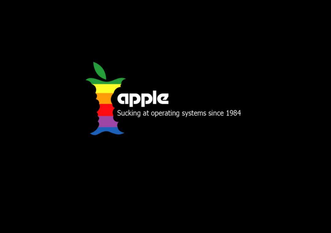 Funny Apple Hd Desktop Wallpaper