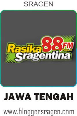 rasika fm radio Sragen