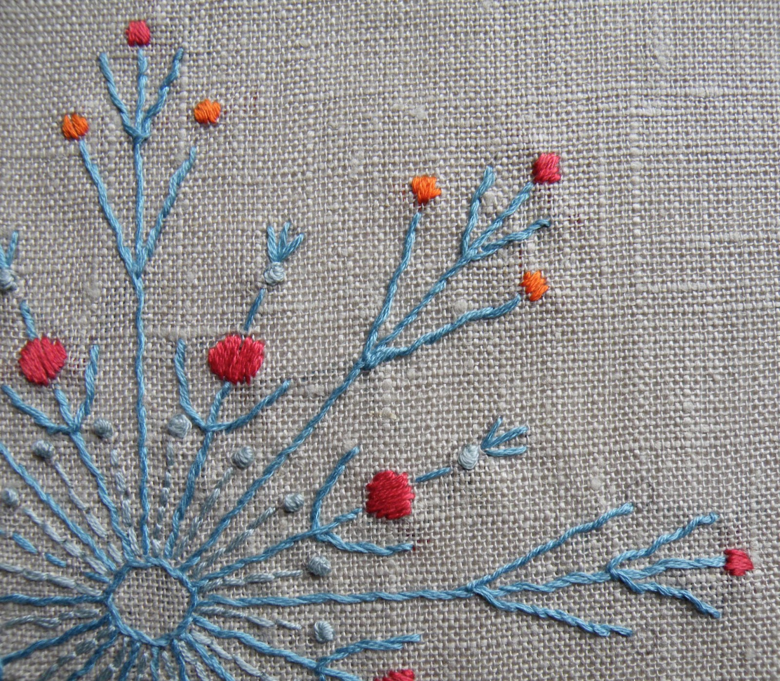 Nancy nicholson what to make with whipped running stitch