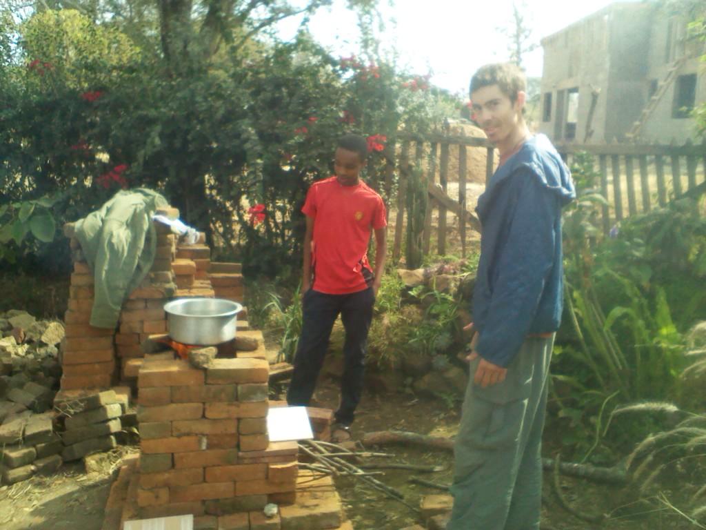 alternative building construction in tanzania rocket stove for my