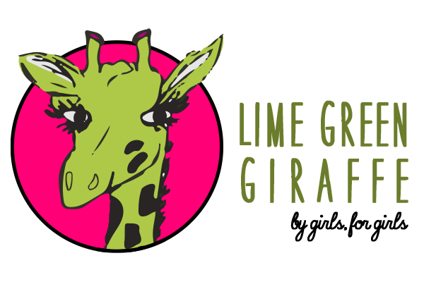 Lime Green Giraffe