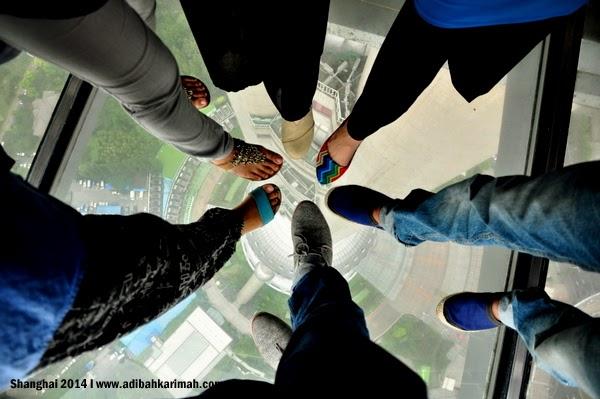 peluang melancong percuma ke shanghai bersama awesomazing team 6