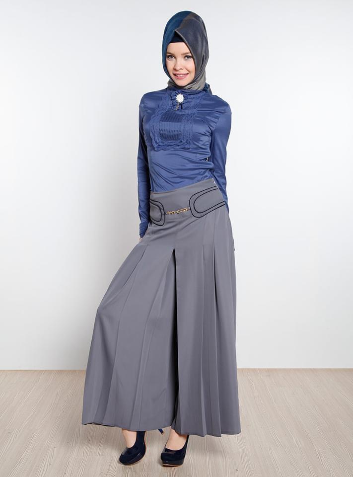 Beautiful And Modern Hijab Dress 2014 Hijab Chic Turque Style And Fashion