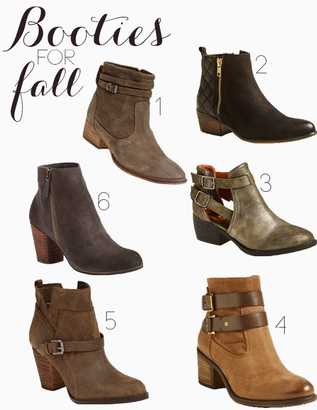 fall fashion, booties,