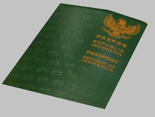 contoh sampul paspor